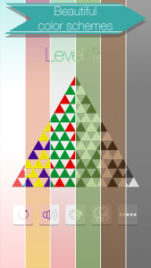 iOS Puzzle Game Triangle Flip Screen 4