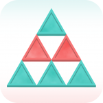 iOS Puzzle Game Triangle Flip